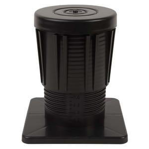 Diversitech 8 in. Adjustable Equipment Riser in Black DIVAER8BL