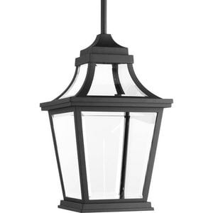 Progress Lighting Endorse 9W 1-Light Hanging Lantern in Black PP65263130K9