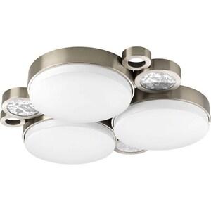 Progress Lighting Bingo 24 in. 17W 3-Light Medium Incandescent Semi-Flush Ceiling Light PP374730K9