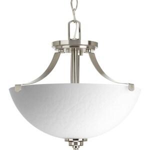 Progress Lighting Legend 2-Light Semi-Flush Convertible Ceiling Fixture PP2315