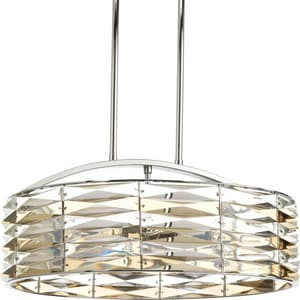 Progress Lighting 60W 6-Light Round Chandelier PP5192