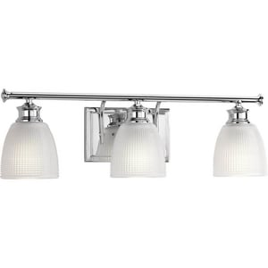 Progress Lighting Lucky 3-Light Bath and Vanity Light PP2117