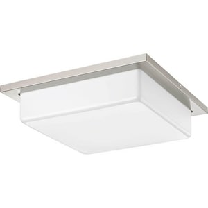 Transit 17W 2-Light 120V Medium LED Ceiling Light PP341730K9