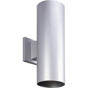 Progress Lighting Cylinder 2-Light 17W Outdoor LED Wall Sconce PP567530K
