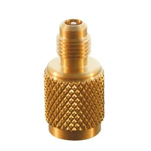 JB Industries 5/16 x 1/4 in. Female x SAE Male Stainless Brass Adapter JA31656