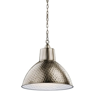 Kichler Lighting Missoula 17-1/4 in. 100W 1-Light Medium Incandescent Pendant KK42800