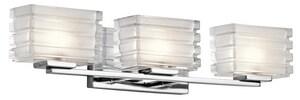 Kichler Lighting Bazely 50W 3-Light G9 Base Halogen Wall Sconce KK45479