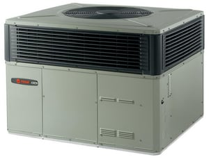 Trane 4DCY4 Series 14 SEER R-410A Packaged Dual Fuel Heat Pump T4DCY4C1090A