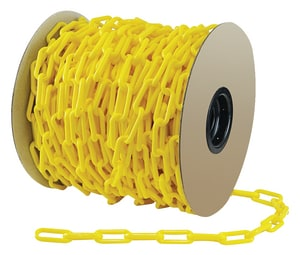 Accuform Signs 20 ft. Safety Chain in Yellow APFC410 at Pollardwater