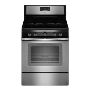 Whirlpool 29-7/8 in. Freestanding Gas Range with Fan Convection Cooking WWFG530S0E