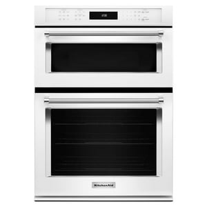 Kitchenaid 30 in. Built-In Combination Microwave Oven with Convection Lower Oven KKOCE500E