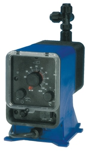 Pulsafeeder Series E+ Polymer and Other High Viscosity Chemical Metering Pump with Manual Control PLVSAVTT5XXX
