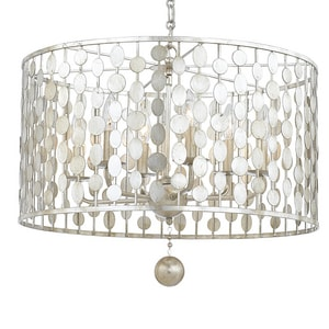 Crystorama Lighting 18-1/2 in. 6-Light Chandelier C546