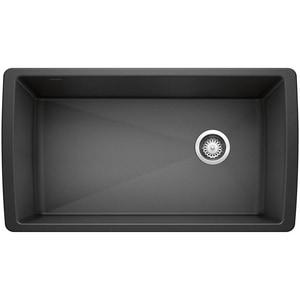 Blanco America Silgranit® II 1-Bowl Granite Undermount Double Bowl with Right Drain B441768