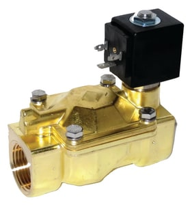 Granzow 1/2 in. 120V 2-Way Normally Closed Bronze Solenoid Valve G21WN4Z0B130010 at Pollardwater