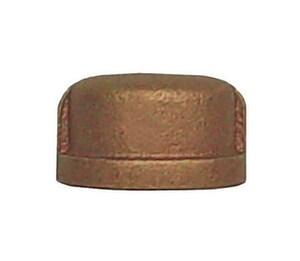 Legend Valve & Fitting Threaded Bronze Cap L310NL