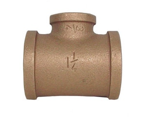 Legend Valve & Fitting 2 x 2 x 1 in. Threaded Bronze Reducing Tee L310435NL at Pollardwater