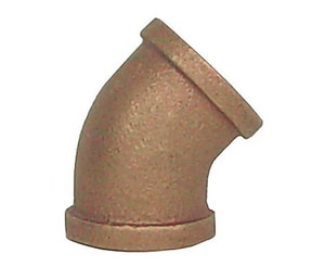 Legend Valve & Fitting Threaded Bronze 45 Degree Elbow L3100NL