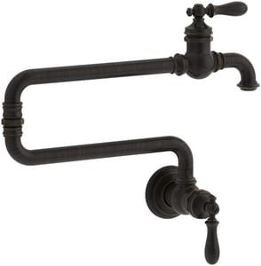 Pot Sink Faucet : Kohler Artifacts? 1-Hole Wall Mount Pot Filler Kitchen Sink Faucet ...