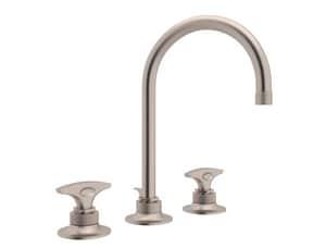 Rohl Michael Berman Graceline™ 1.2 gpm 3-Hole Lavatory Faucet with Double Lever Handle RMB2019DM2