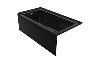 Jacuzzi Linea® 60 x 32 in. Skirted Whirlpool with Right Hand Drain JLNS6032WRL2HX