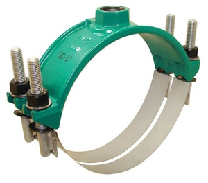 Stainless Steel Double Strap Saddles