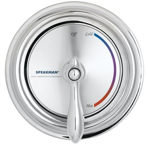 Speakman SentinelPro™ Wall Plate and Trim Kit in Polished Chrome SCPT3000
