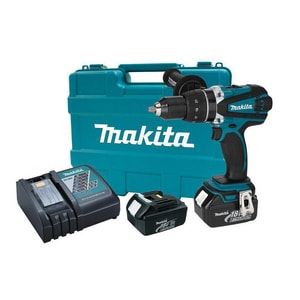 Makita USA LXT® 8-7/8 in. 18V Cordless Drill and Driver Kit MXFD03