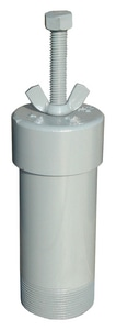 Tri-State Wastewater MNPT Painted Steel Blower Pressure Relief Valve TTSPRV