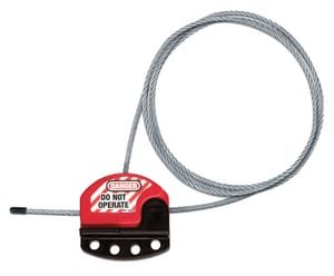 Master Lock 6 ft. Adjustable Lockout Cable MS806 at Pollardwater