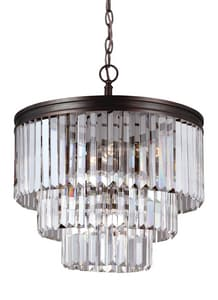 Seagull Lighting Carondelet 4-Light Chandelier S3114004