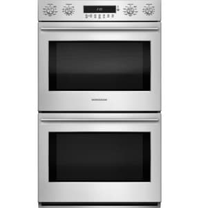 General Electric Appliances Monogram® 53-1/16 x 29-3/4 in. 10 cf Wall Electric Double Oven GZET2SH