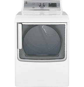 General Electric Appliances Electric Dryer with Speed Dry in White GGTD81ESSJWS
