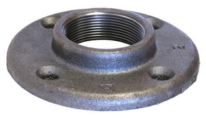 150# Black Malleable Iron Floor Flange BFF