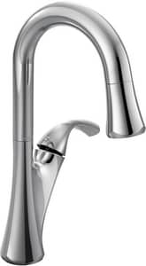 Moen Notch™ 1-Hole High Arc Pull-Down Bar Faucet with Single Lever Handle M6124