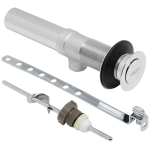 American Standard Metal Drain And Stopper Kit In Polished