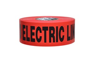 Presco 1000 ft. Non-Detectable Electric Tape in Red PND104R6737