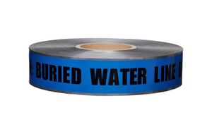 Presco 1000 ft. Underground Water Detectable Tape PD105B52737