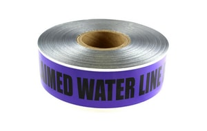 Presco 1000 ft. 5 Mil Underground Detectable Reclaimed Water Tape in Purple PD105PP115737