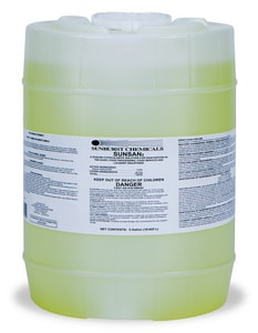 Sunburst Chemicals 5 gal Sunburst Sunsan Liquid Chlorine Sanitizer S550005