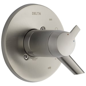 Delta Faucet Compel® Thermostatic Valve Only with Double Lever Handle DT17T061