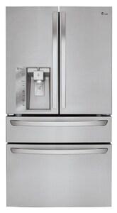 LG Electronics CustomChill® 6.40 cf Large Capacity Counter Depth French Door Refrigerator with Custom Chill Drawer LGLMXC23746