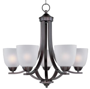 Maxim Lighting International Bel 60W 5-Light Incandescent Chandelier in Oil Rubbed Bronze M43794223