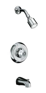 Kohler Revival® Wall Mount Bath and Shower Trim Kit with Double Lever Handle K16217-4A