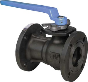 FNW Carbon Steel Reduced Port Flanged 150# Ball Valve FNW501A