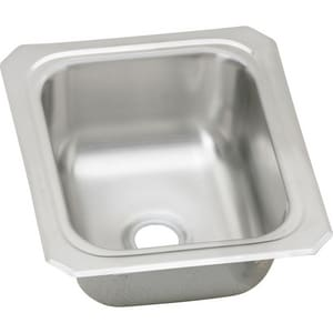 Elkay Gourmet Celebrity® 13 X 15 In. Single Bowl Top Mount Bar Sink EBCFR1315