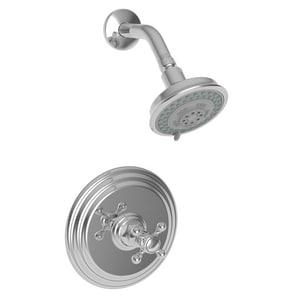 Newport Brass Astor Pressure Balance Shower Faucet Trim with Single Cross Handle N3-924BP