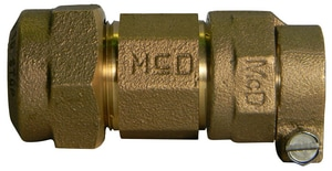 A.Y. McDonald CTS Brass Straight Coupling M74758Q68