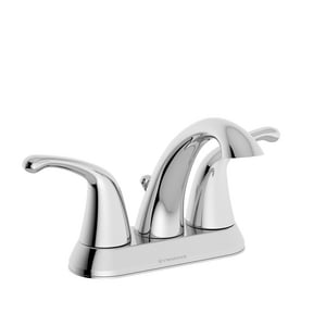 Symmons Industries Unity™ 1.5 gpm 3-Hole Centerset Bathroom Faucet with Metal Pop-Up Drain Assembly and Double-Handle SYMSLC661215