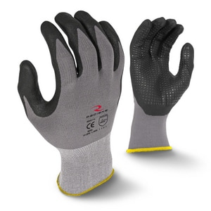 Radians L Size Dipped Dotted Glove 12 Pack RRWG11L at Pollardwater